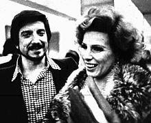 La Vanoni con Gigi Proietti nel 1975