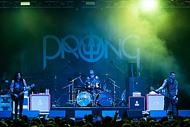 Prong beim Wacken Open Air 2017