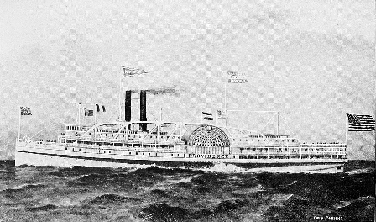 New Engine Cost >> Providence (1866 steamboat) - Wikipedia