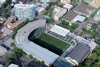Providence Park - The stadium in 2016