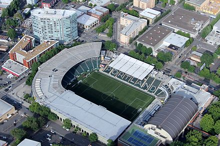 The stadium in 2016 Providence Park.jpg