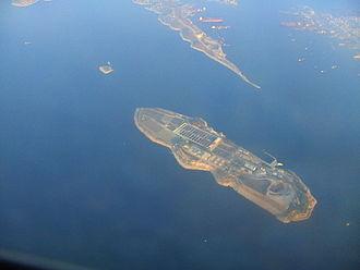 Psyttaleia - Aerial view