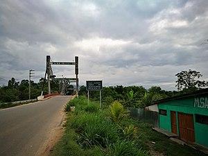 Tarapoto - Image: Puente Atumpampa, Tarapoto