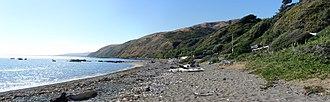 Pukerua Bay - Beach at Pukerua Bay.