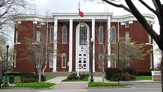 Putnam County, Tennessee - Image: Putnam County Courthouse tn 1