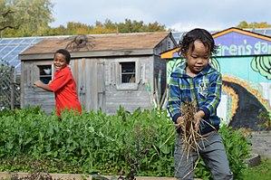 Queens Botanical Garden - QBG's Children's Garden
