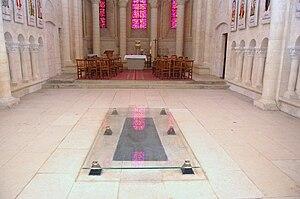 Matilda of Flanders - Tomb of Matilda of Flanders at Abbaye aux Dames, Caen