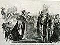 Queen Victoria And King of Sardinia in Garter Ceremonial Robes.JPG