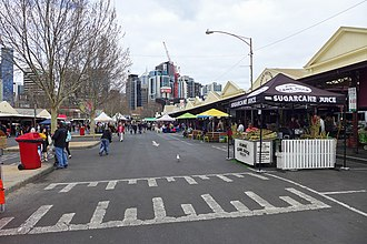 Queen Victoria Market - Queen Victoria Market in Sunday, 2017