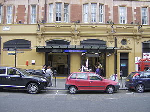 Queensway tube station - Image: Queensway tube station