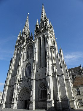Image illustrative de l'article Cathédrale Saint-Corentin de Quimper