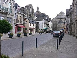 Quimperlé - Brémond d'Ars street