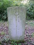 R.J. Ward RAF war grave New Southgate Cemetery.JPG
