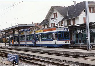 Worb - Worb railway station