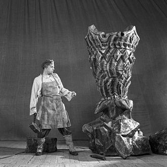 The Stone Flower - Vladimir Preobrazhensky as Danilo in The Tale of the Stone Flower ballet, 1 March 1954.