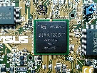 RIVA 128 - RIVA 128ZX GPU