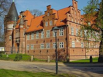 Bergedorf - Schloss Bergedorf now houses a history museum.