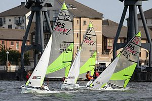 London Youth Games - RS Feva at the London Youth Games Regatta