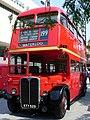 RT London double decker bus at the Royal Festival Hall.jpg