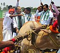 """Radha Mohan Singh and the Minister of State for Petroleum and Natural Gas (Independent Charge), Shri Dharmendra Pradhan at the inauguration of the Farmers' Fair on the occasion of """"Akshaya Tritiya"""", at Cuttack, Odisha.jpg"""