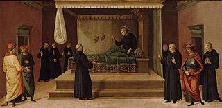 Nicola da Tolentino resuscita due colombe