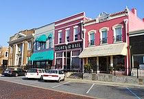 Railroad Avenue Historic District Opelika Alabama.JPG