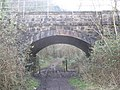 Railway Arch at the foot of Nightingale Valley, Leigh Woods - geograph.org.uk - 1165447.jpg