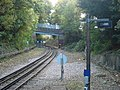 Railway line to the south of Chesham tube station - geograph.org.uk - 1014585.jpg