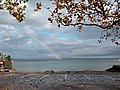 Rainbow at Surfing Point Arbon - panoramio.jpg