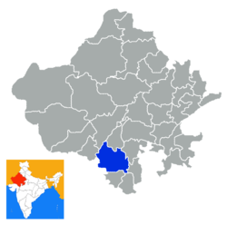 Rajastan Uidapur district.png