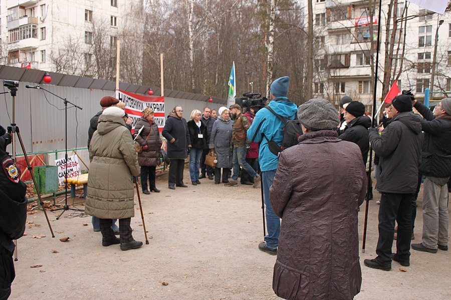 Rally for the termination of construction and restoration of the square (2018;11;17) 59.jpg