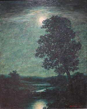 Ralph Albert Blakelock - Moonlight, c. 1883-1889, High Museum, Atlanta, Georgia