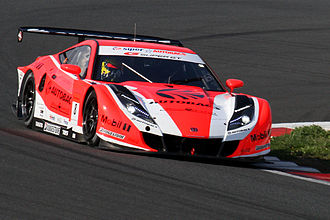 Ralph Firman - Firman driving the Honda HSV-010 GT for ARTA at the 2010 Super GT Fuji 400km race.