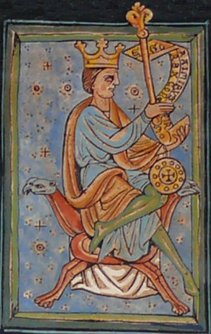 Ramiro III of León - Ramiro III in the Libro de las Estampas
