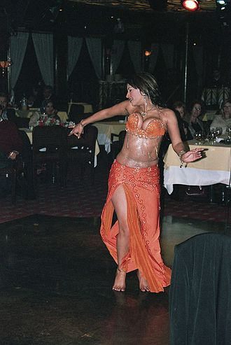 Belly dance - Randa Kamel, Egyptian belly dancer
