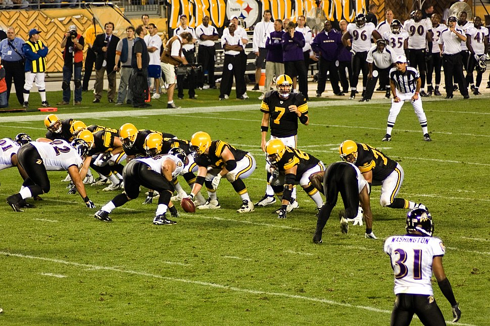 Ravens vs Steelers 2008 MNF 2