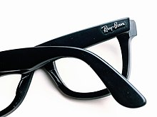 a76bfcdcbdac0 Ray-Ban logo on the Classic Wayfarer (RB5121)