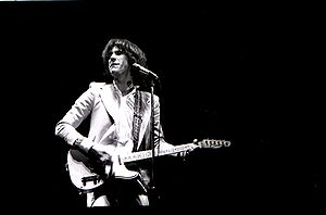 Ray Davies - Ray Davies performing in Toronto, 1977