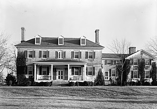 Readbourne historic home located at Centreville, Queen Annes County, Maryland, United States