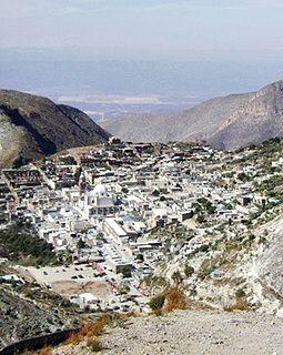 Real de Catorce Place in San Luis Potosí, Mexico