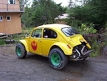 Baja Bug Style Modified Beetle
