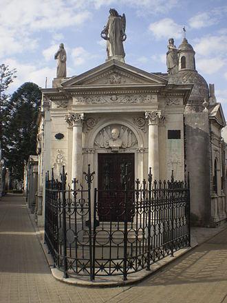 Julio Argentino Roca - Tomb of Julio Argentino Roca, Recoleta Cemetery, Buenos Aires.
