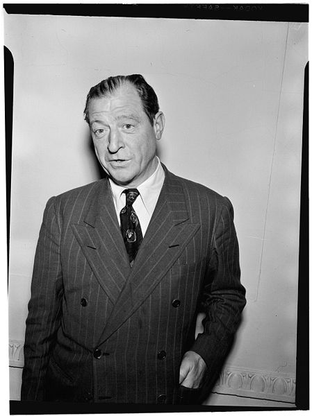 File:Red McKenzie, ca. Oct. 1946 (William P. Gottlieb 05761).jpg