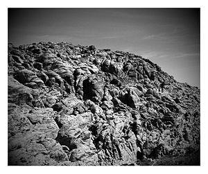 התפוררות אבן חול בקניון רד רוק, נבאדה