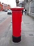 Red pillar box (1916 Celebrations 2016) Church St 3.JPG