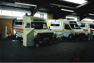 Reeve Burgess - Image: Reeve Burgess Ambulances