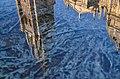 Reflejo Catedral de Toledo en Fuente Tres Aguas -- 2014 -- Toledo, España 09.JPG