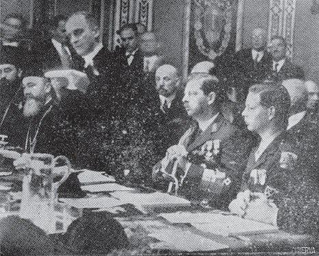 Regele Carol II si Mihai 20 septembrie 1936 (Viata ilustrată)