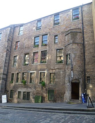 James Douglas, 4th Earl of Morton - Morton's town house in Edinburgh is now a backpackers' hostel
