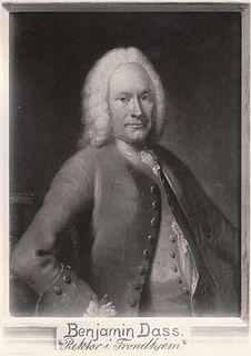 Benjamin Dass Norwegian teacher and book collector